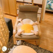 Molisii茉莉絲屁蛋君坐垫,宇宙最舒适的美食坐垫