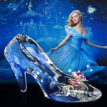 灰姑娘水晶鞋摆件,每个女孩心中都有一只水晶鞋