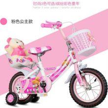 带闪光辅助轮儿童自行车,带上孩子放飞春天