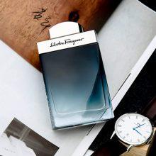 菲拉格慕蓝色经典香水,经典淡香让你做个魅力绅士