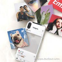 ins截图小卡片全包创意手机壳,给你的手机壳每天换一张图片吧