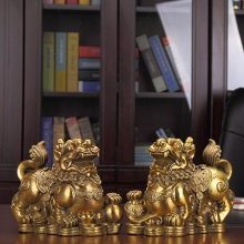 开光纯铜貔貅摆件,是镇宅招财纳福的绝佳礼品