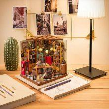 若态DIY小屋木制拼装玩具,凯西花房山姆书屋多款可选