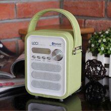 loci P50无线遥控蓝牙插卡大音量便携式音箱,送给爸妈的贴心礼物