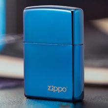 定制zippo蓝冰防风打火机,高格调的时尚个性展示
