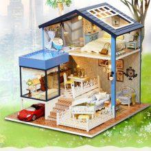 西雅图DIY木制拼装玩具,给你一个属于自己的家