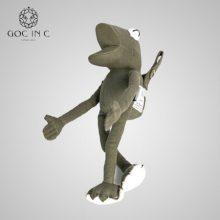青蛙LOVE卡通便携充电宝,这只充电蛙儿真的有点帅