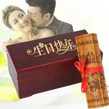 定制竹简情书礼盒,适合送ta的走心生日纪念