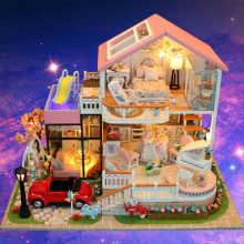 弘达甜言蜜语系列DIY小屋模型,能读懂我的只有你