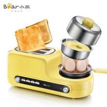 小熊多功能烤面包早餐机,与面包和早餐的365次初恋