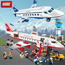 古迪儿童拼插积木模型,让孩子拼出属于自己的国际机场