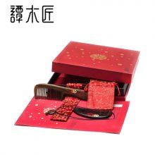谭木匠百年好合婚庆木梳,中国味十足的结婚礼物