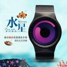 Ziiiro水星漩涡概念手表,旋涡随着时间的前进而旋转