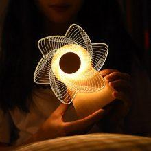 旋转风车摩天轮音乐盒,一个可以播放音乐的小夜灯