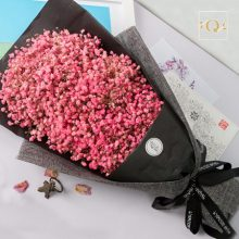 满天星干花花束礼盒,送给恋人绝佳的生日礼物