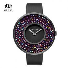 WUSSA水钻女士手表,送女朋友一件爱不释手的礼物