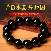 乌金黑曜石貔貅手链,送男友一份守护的礼物