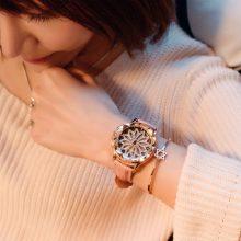网红款时来运转水钻表,时尚女生最爱潮流手表
