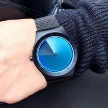 Enmex立体渐变色旋涡男士手表,超酷炫的创意男表