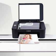 佳能复印扫描打印多功能彩色一体机,家用办公最佳帮手