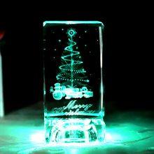 创意发光可以刻字的水晶摆件,实用走心的送礼佳品