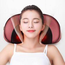 颈部腰部多功能按摩器,居家旅行必备舒适按摩枕头