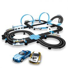 多人电动遥控赛车跑道,多变轨道让趣玩性倍增