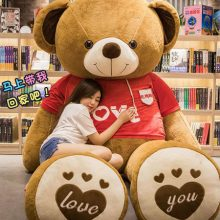可爱毛绒抱抱熊公仔,适合送女友的超可爱毛绒大熊