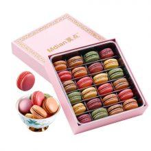 24枚法式马卡龙礼盒,喜欢甜食的人不容错过的经典