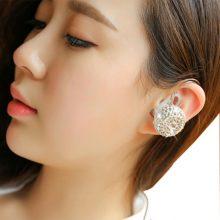 创意挂耳式蓝牙耳机,耳钉耳机合二为一