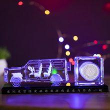 水晶车模蓝牙音箱,送男友一件酷炫的生日礼物