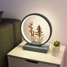 北欧风小麋鹿台灯,创意有格调的个性台灯摆件