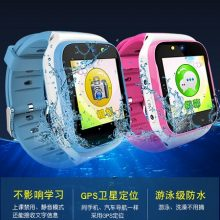 GPS定位防水儿童电话手表,孩子的行踪你一手掌控