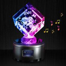 一生有你DIY水晶音乐盒,送给女友小孩的精致礼物