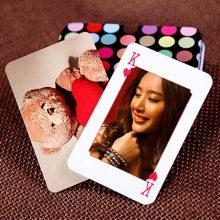 DIY个性定制照片扑克牌,分别的时候留下最美好的记忆