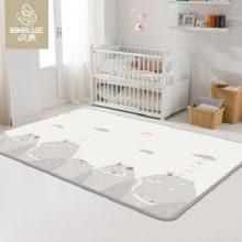 贝易加厚无味双面图案宝宝爬行垫,科学呵护宝宝的每一次爬行