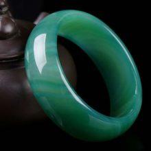 民族风绿玛瑙玉镯,送给妈妈老婆闺蜜的最好礼物
