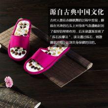 千年以后天然雨花石按摩拖鞋,一款实用有档次的礼物