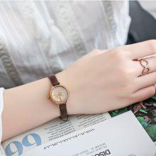 聚利时小表盘女士手表,送一盒多用的创意手表礼盒