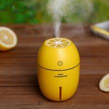 迷你柠檬喷雾加湿器,纯净滋润还原生活美