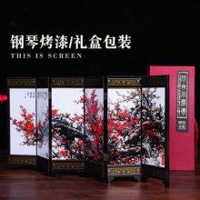 中国古风屏风摆件,中国古典文化的深远交流