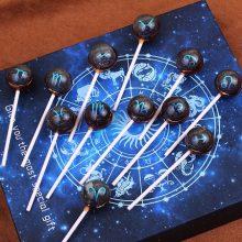 十二星座星空棒棒糖,为你定制的专属甜蜜
