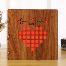 DIY手工木制相册,韩国创意粘贴式纪念册