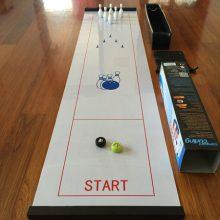 保龄球冰狐球休闲玩具,风靡全球的亲子益智游戏