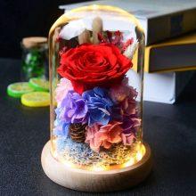 进口永生花礼盒,让她永远不会忘记你的爱