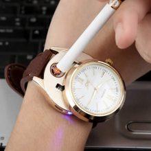 可以点烟的创意打火机手表,高逼格的男人礼物