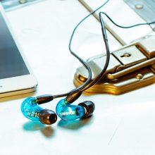 舒尔SE215动圈隔音监听入耳式耳机,耳机线可拆卸更换