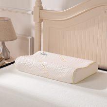 福满园泰国天然乳胶枕一对,天然健康护颈枕(CCTV1品牌)