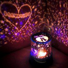 创意DIY星空投影灯,一款能够定制图案和文字的浪漫小灯