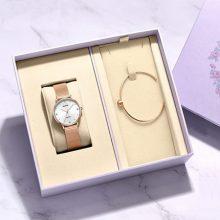 雷诺女士手表手链礼盒,送给时尚女友的绝佳礼物